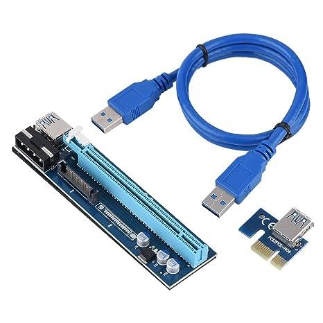 PCI-E Adaptador vertical de 1x a 16x GPU, Adaptador de ...