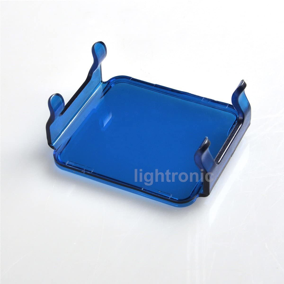 Lightronic 2PCS Blue LED Lens Cover for Work Driving Light Off Road 3x3 18W 16W Cube Pods Blue