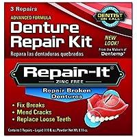 Dentemp Emergency Repair Kit Broken Dentures 3 repairs by The Miles Group