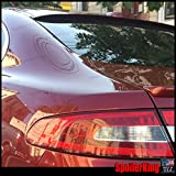 Jaguar XF Rear Window Roof Spoiler (700814235772)