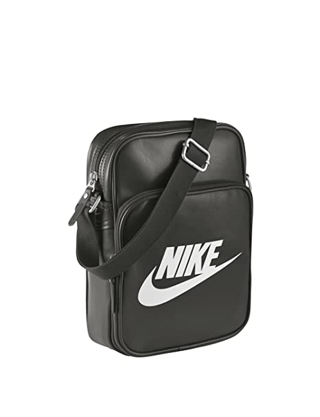 design di qualità 2178a 02397 Nike, Borsello con Tracolla Heritage II, Nero (Deep Pewter ...