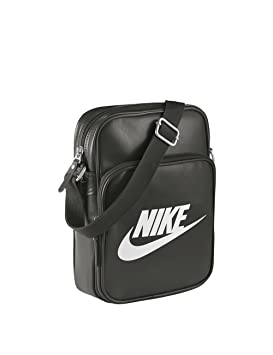 19ad9d9a3c Nike Heritage II Sacoche Deep Pewter/Deep Pewter/White: Amazon.fr ...