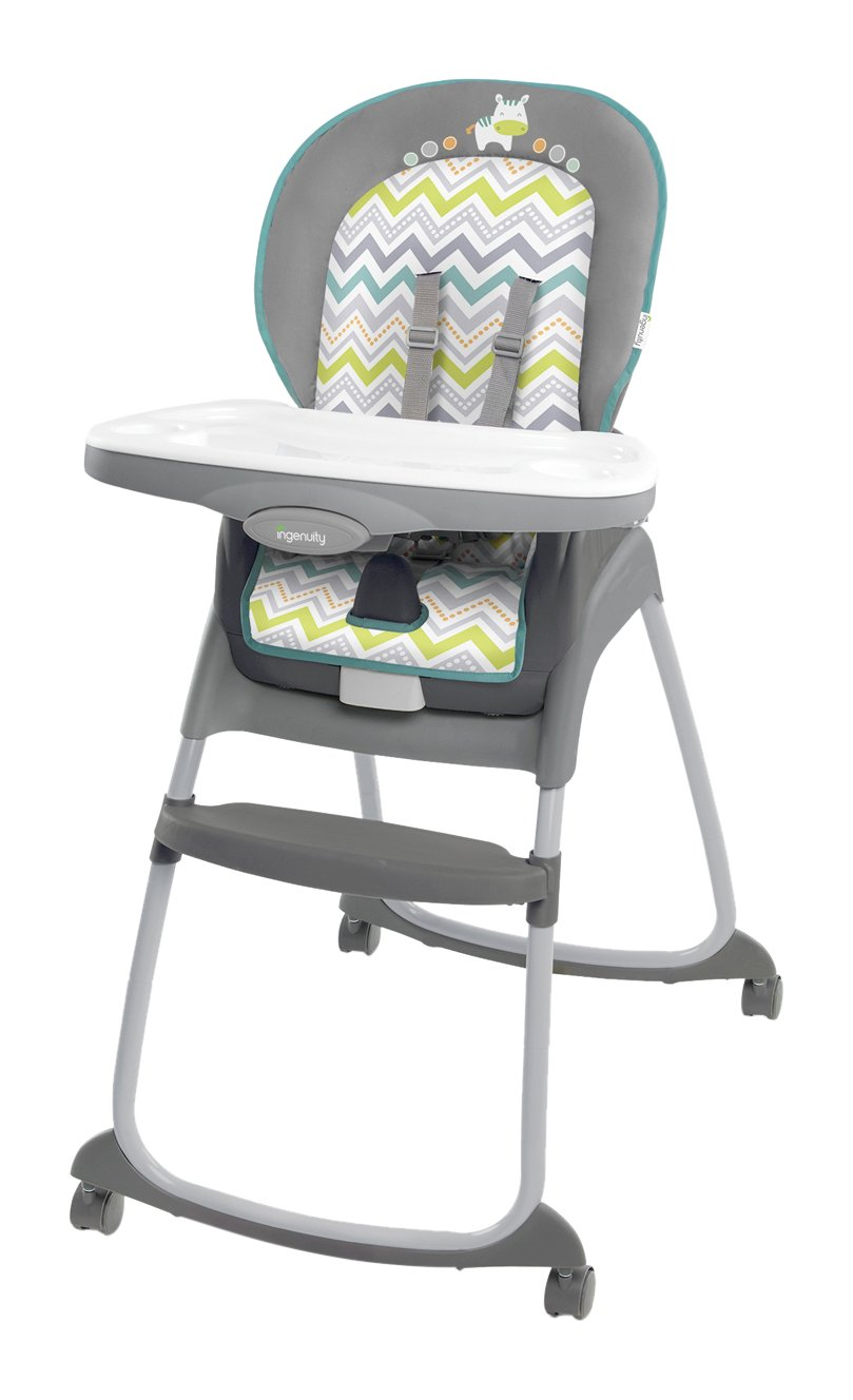 Baby High Chair Grey 3 In 1 Booster Seat Toddler Chair New FREE SHIPPING