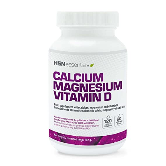HSN Essentials - CALCIO MAGNESIO VITAMINA D - 120 tabs