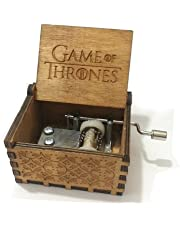 Games of Thrones Tune Hand Crank Wooden Music Box
