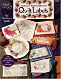 Iron-on Transfers for Quilt Labels, DRG Publishing Staff, 0881959030