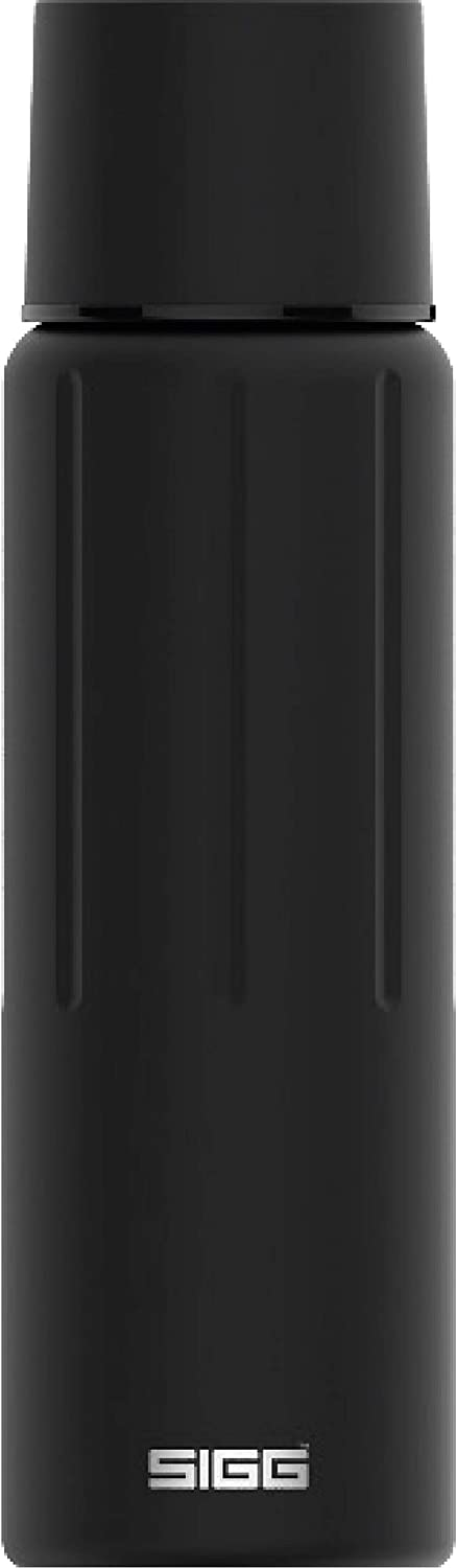 SIGG Gemstone Obsidian, Vacuum-Insulated Thermo-Bottle, Stainless Steel, BPA Free - 25oz