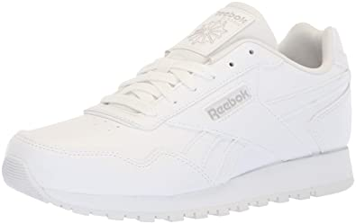 Reebok Classic Harman Run Kids Sneaker, WHITESTEEL, Little Kid