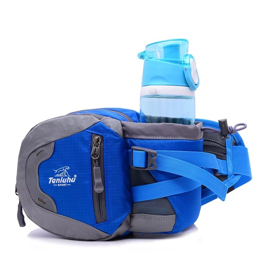 6fa50333e616 Outdoor Waist Bag, Tanluhu Sports Water Resistant Waist Pack with ...