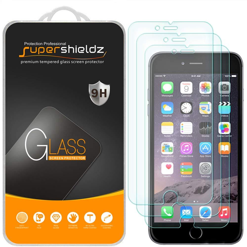 Vidrio Templado iPhone 6S Plus y iPhone iPh [3un] (1N9QS2QW)