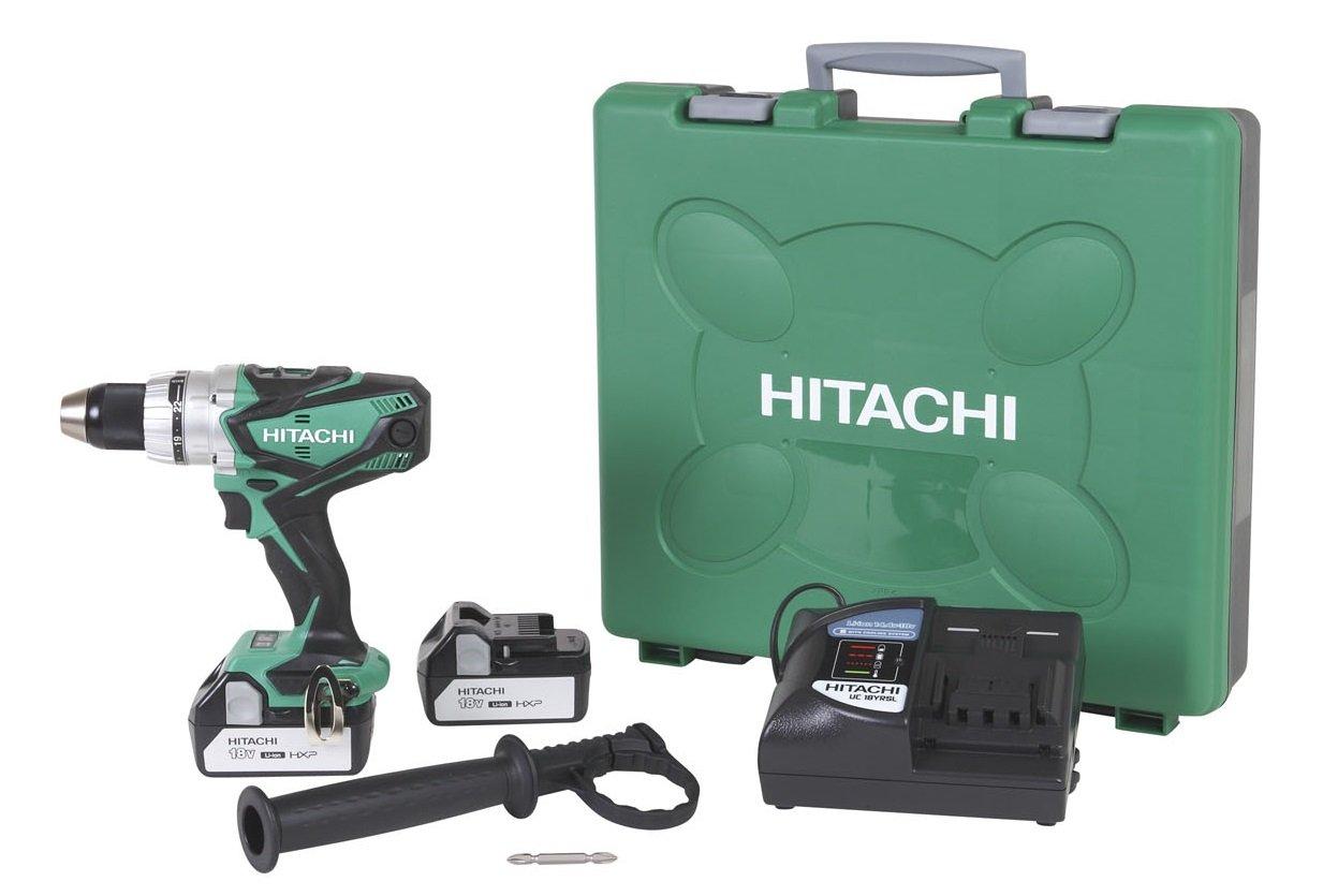 Hitachi DS18DSDL 18-Volt Lithium Ion Driver Drill (3.0Ah)