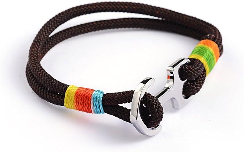Miniblings Pulsera de Anclaje Cuerda de Escalada Cuerda de ...
