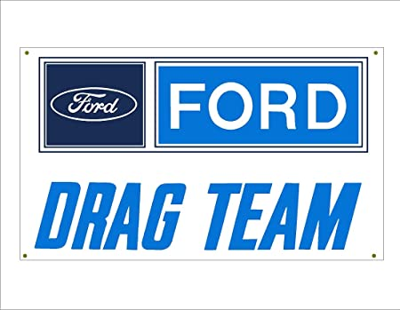 Ford Performance Mustang 3/'X5/'  VINYL BANNER MAN CAVE GARAGE SIGN MECHANIC SHOP