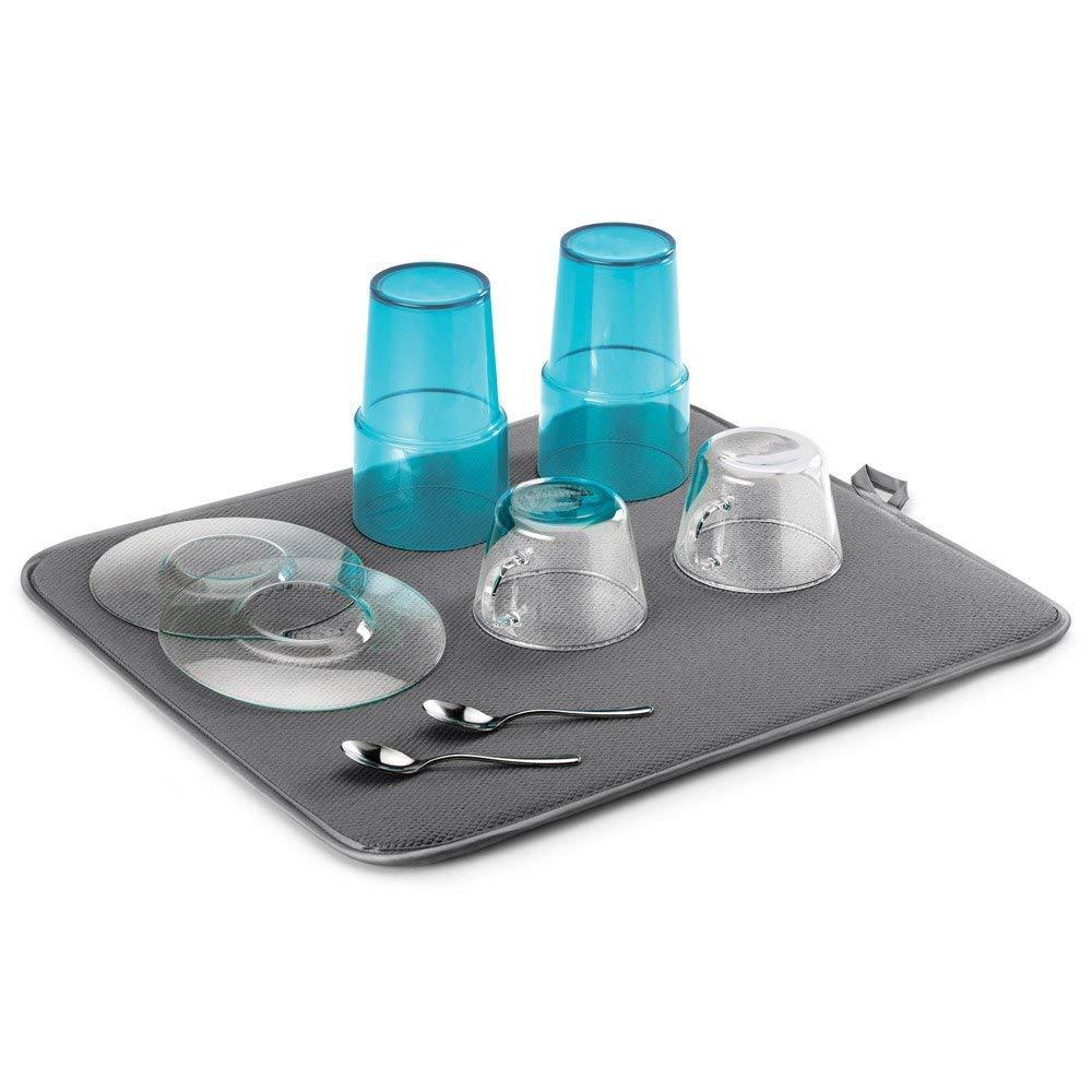 Metaltex Tidy-Tex Organizer per lavello Cucina, Plastica ABS, Grigio, 24x13x14, 2 unità 2 unità 29.75.30