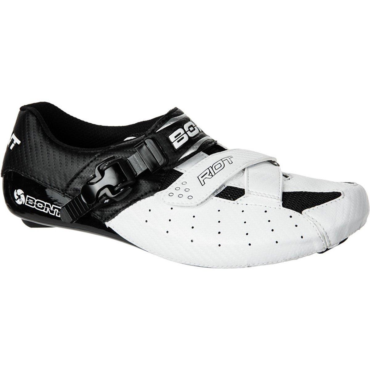 Bont Riot Schuhe Men Weiß schwarz Größe 44 2016 Mountainbike-Schuhe