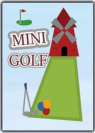 Schön MINI Golf Einladungskarten Einladungen Ausflug Party Geburtstagseinladungen