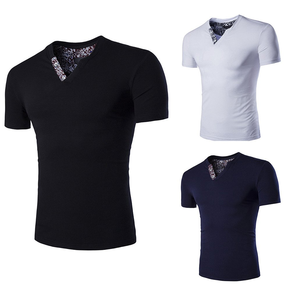 Hombre camiseta manga corta,Sonnena ❤ Camiseta casual ...