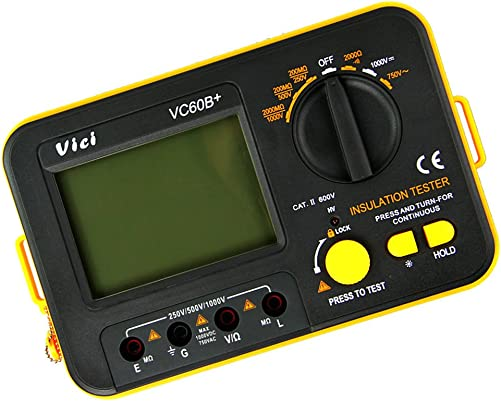 Buyee Vc60b Insulation Resistance Tester Meter Megohmmeter Energy Class A