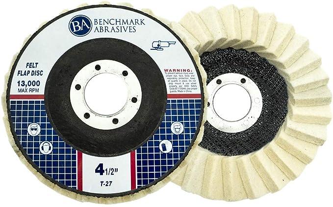 "5//8/"" Bore Nylon Flap Polishing Wheel Buffing Disc Grinding Tool for Metal 4Pcs"