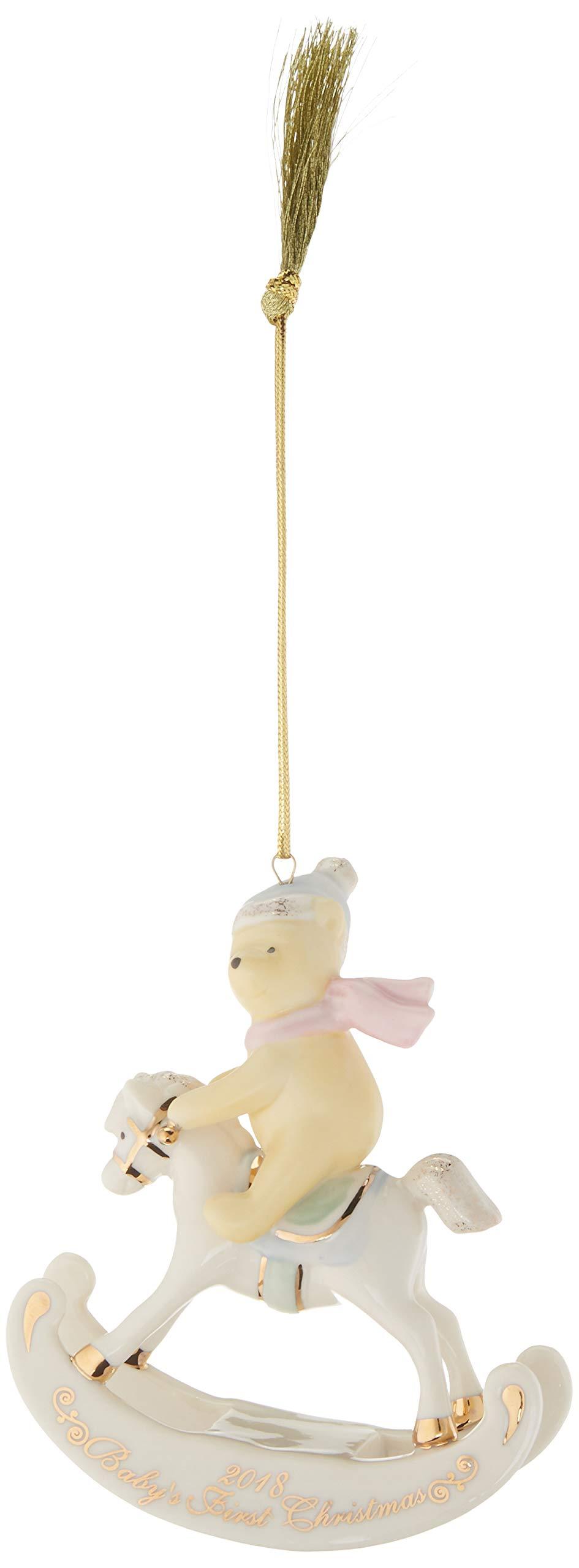 Lenox 2018 Winnie The Pooh Baby's 1st Christmas