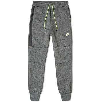 huge selection of 2a076 3c02b Nike Mens TECH Fleece Pant 545343-037 L - Tumbled Grey Black HTR Volt   Amazon.ca  Sports   Outdoors