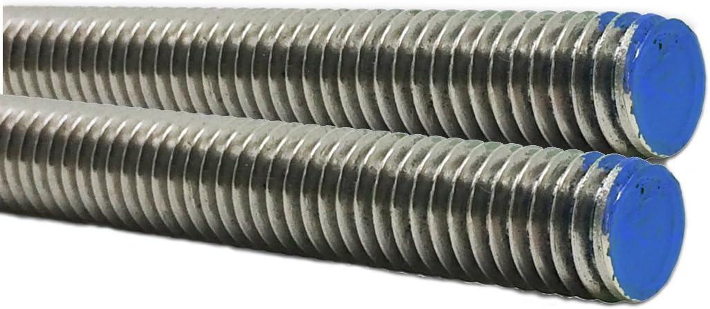 "1 pcs  36/"" Long 16 Threaded Rod  B7 3//8/"" high tensile steel"