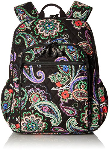 Women's Campus Tech Backpack, Signature Cotton, Kiev Paisley by Vera Bradley
