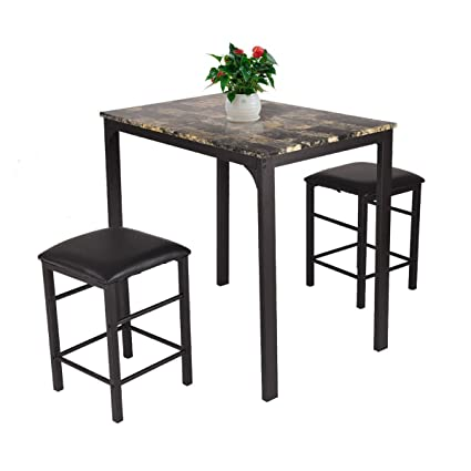 Lovely Espresso Bar Table Set