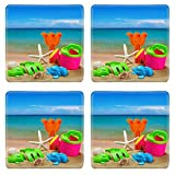 Liili Square Coasters toys for childrens sandboxes against the sea and the beach 28412835
