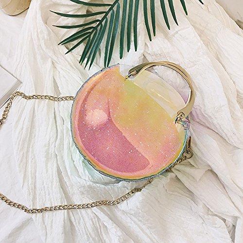 De Sachets Forfaits Unique Jelly Sac Sac À Tendance Paquet Diagonale KLXEB Bandoulière Petits Emballages Pink L'Été Transparent De Fille Pack P7CWqa