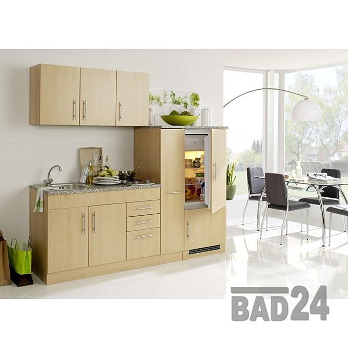 Singleküche Büroküche Teeküche 190 Torona Melamine White