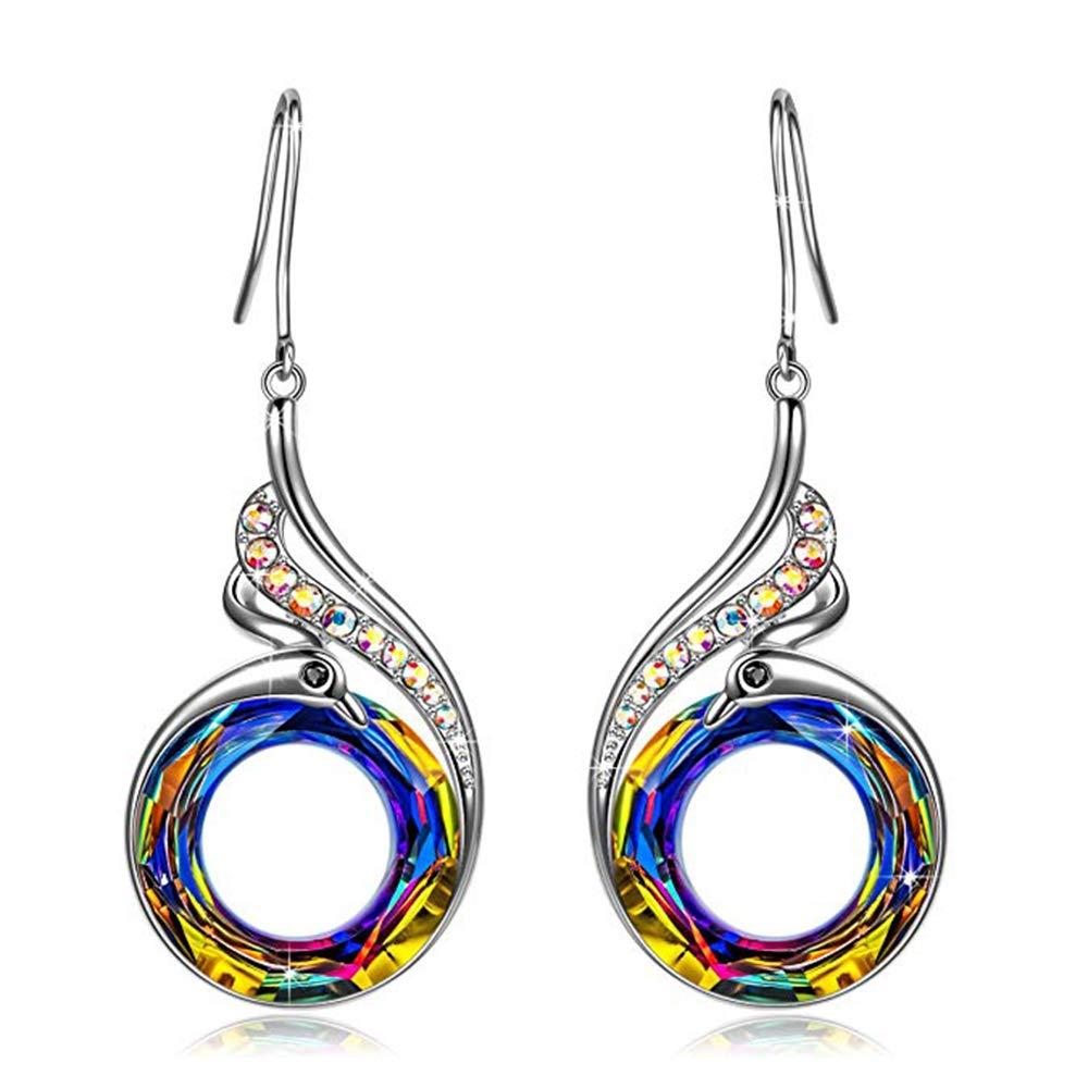Women Statement Earrings, Elegant Jewellery Box, Symbolizing Luck and Renewal