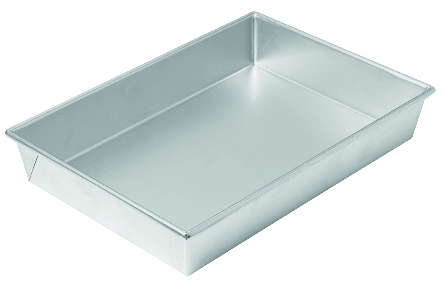 Chicago Metallic Commercial II Traditional Uncoated Bake N' Roast Pan, 13 by 9 by 2-1/4-Inch 49945