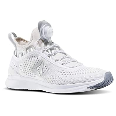 7adc06868 Reebok Women's Pump Plus Tech Sneaker White Lilac Ash 8.5 D(M) US ...