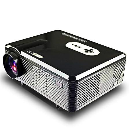 WZHESS Proyector LED de 3000 lúmenes, multifunción Proyector ...