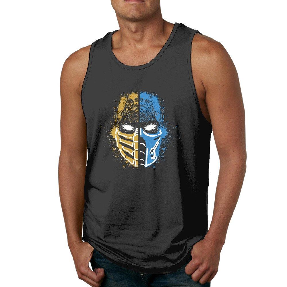 PGxln Scorpion Vs Sub-Zero Mortal Kombat Mens Athletic Tank Black
