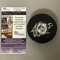Autographed/Signed Jori Lehtera Philadelphia Flyers Logo Hockey Puck JSA COA