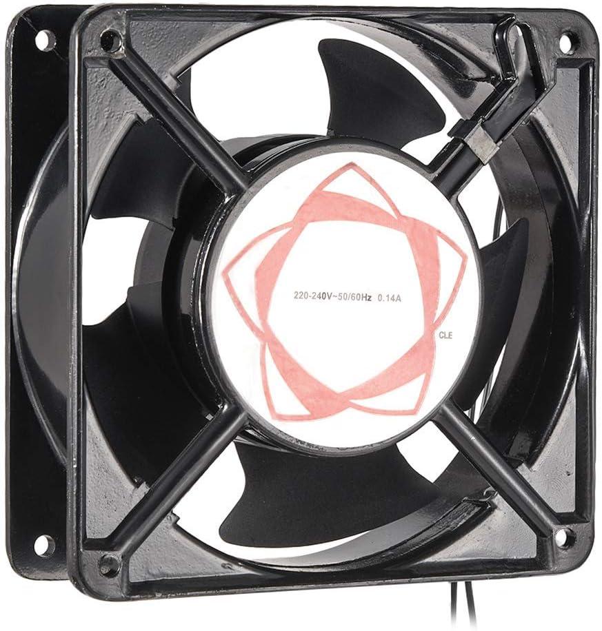 NA Cooling Fan 120mm x 120mm x 38mm DP200A AC 220-240V 0.14A Double Ball Bearings