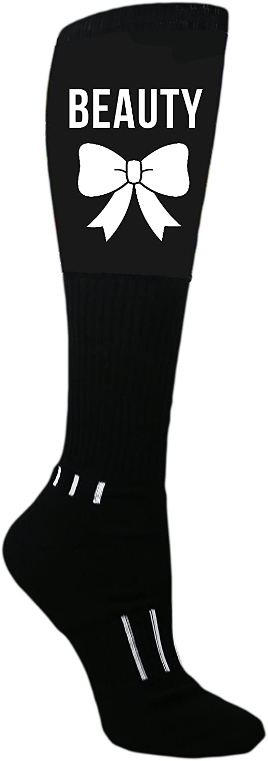 MOXY Socks Black Beauty Diva Knee-High Performance Athletic Socks