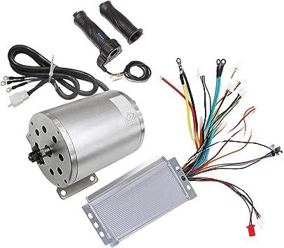 1800W 48V E-Bike Brushless Motor+Throttle Pedal Electric Go-kart ATV/&Controller