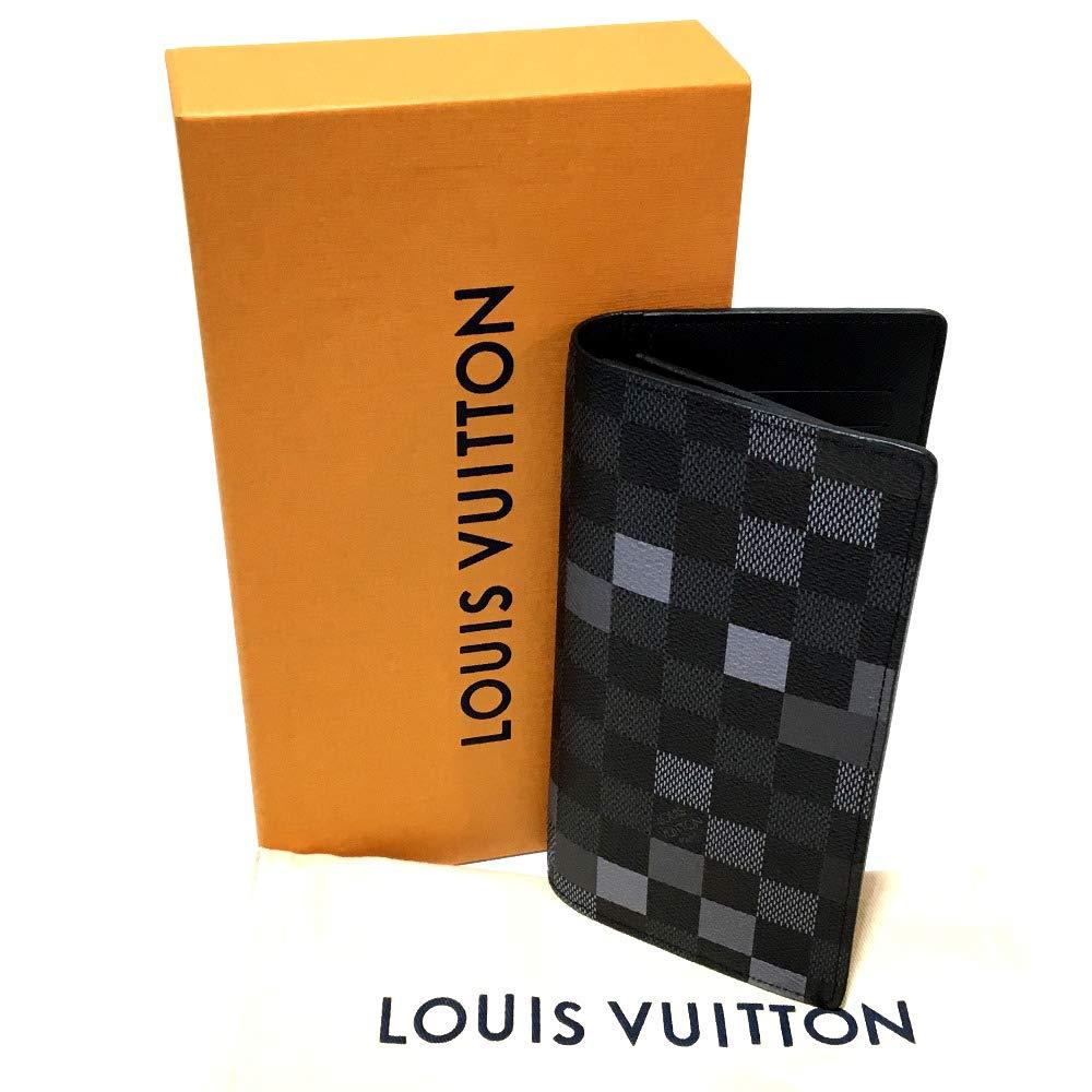 fbe87f035cc4 Amazon | (ルイ・ヴィトン)LOUIS VUITTON N60163 ポルトフォイユ・ブラザ ダミエ・グラフィット ピクセル 2つ折り 長財布(小銭入れあり)  ダミエ・グラフィット ...