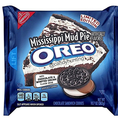 Mississippi Mud Pie Sandwich Cookies Limited Edition!! 10.7 oz