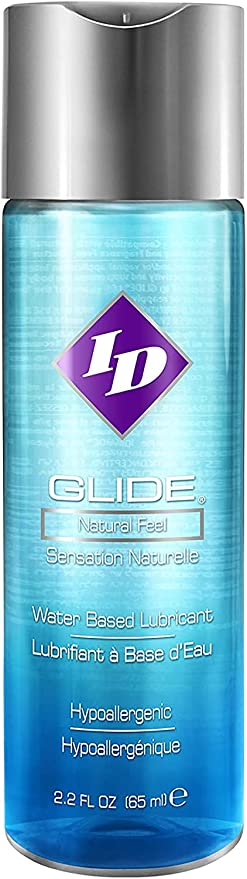 ID Glide Water Based Lube 2.2oz Flip Bottle