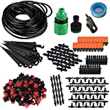KORAM IR-D 50 Feet Blank Distribution Tubing Hose Plant Watering Irrigation Drip Kit Accessories Include Atomizing Nozzle Mister Driper 14-Inch