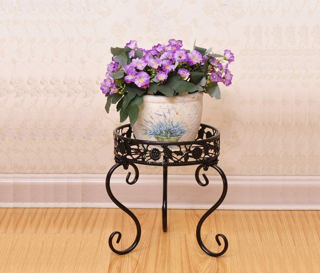 Flower Stand Living Floor Floor Cavalletto A Fiori per Interni Multipiano Living Room Balcone Mensola per Fiori verde - JBP30,C
