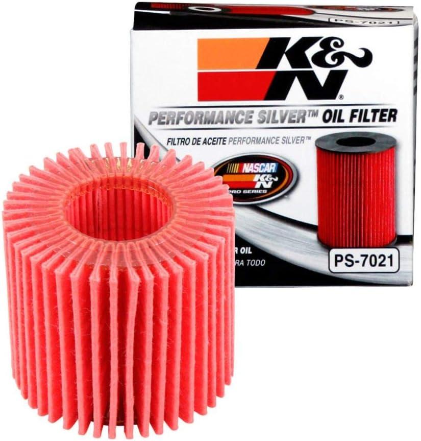 K&N Premium Oil Filter: Designed to Protect your Engine: Fits Select 2008-2020 TOYOTA/LEXUS/SCION/PONTIAC (C-HR, Corolla, Prius, Matrix, CT200h, iM, xD, Vibe), PS-7021