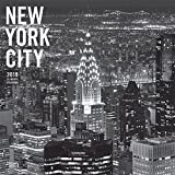 New York City Black & White 2019 12 x 12 Inch Monthly Square Wall Calendar, USA United States of America New York State Northeast Atlantic (English, French and Spanish Edition)