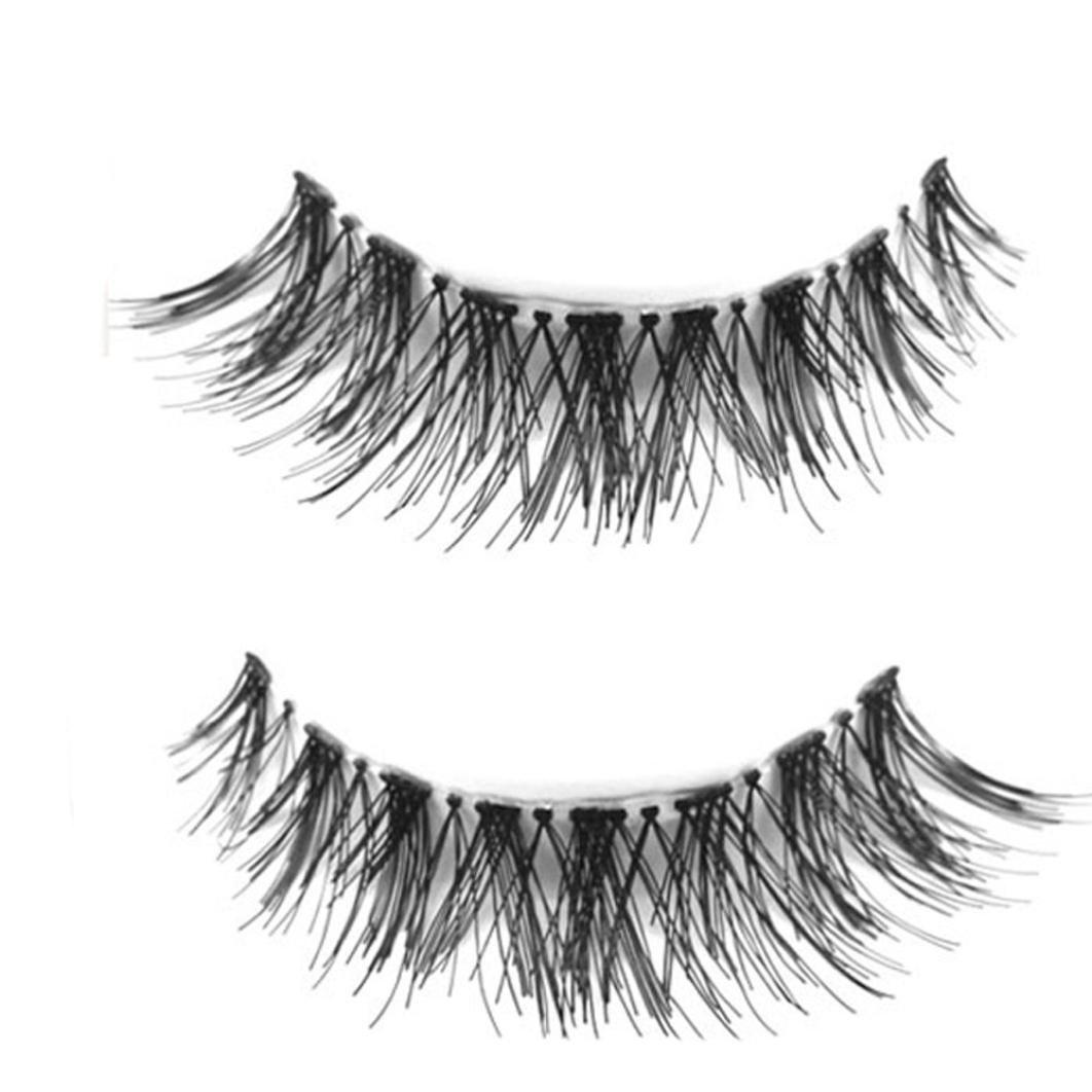 Chartsea Japanese Style Black 10 Pairs Eyelashes (Black) by Chartsea (Image #6)