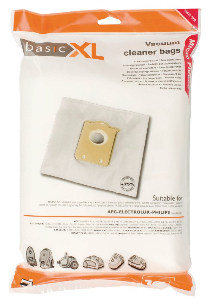 Amazon.com: basicXL Vacuum cleaner bag Philips S-bag/Electrolux E200B [BXL-51865]: Kitchen & Dining