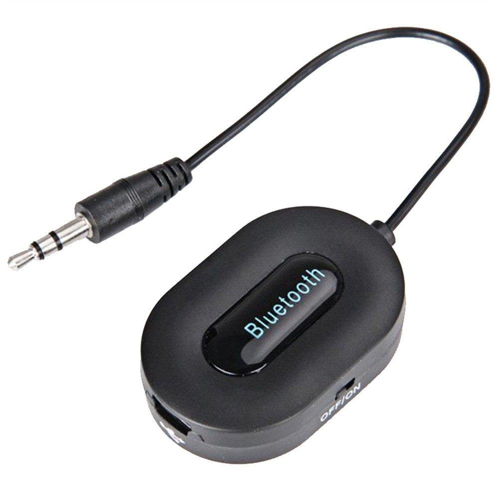 YUYOUG BM-E9 Bluetooth 3.0 Musique R/écepteur 3.5mm Adaptateur Mains Libres Voiture Haut-Parleur